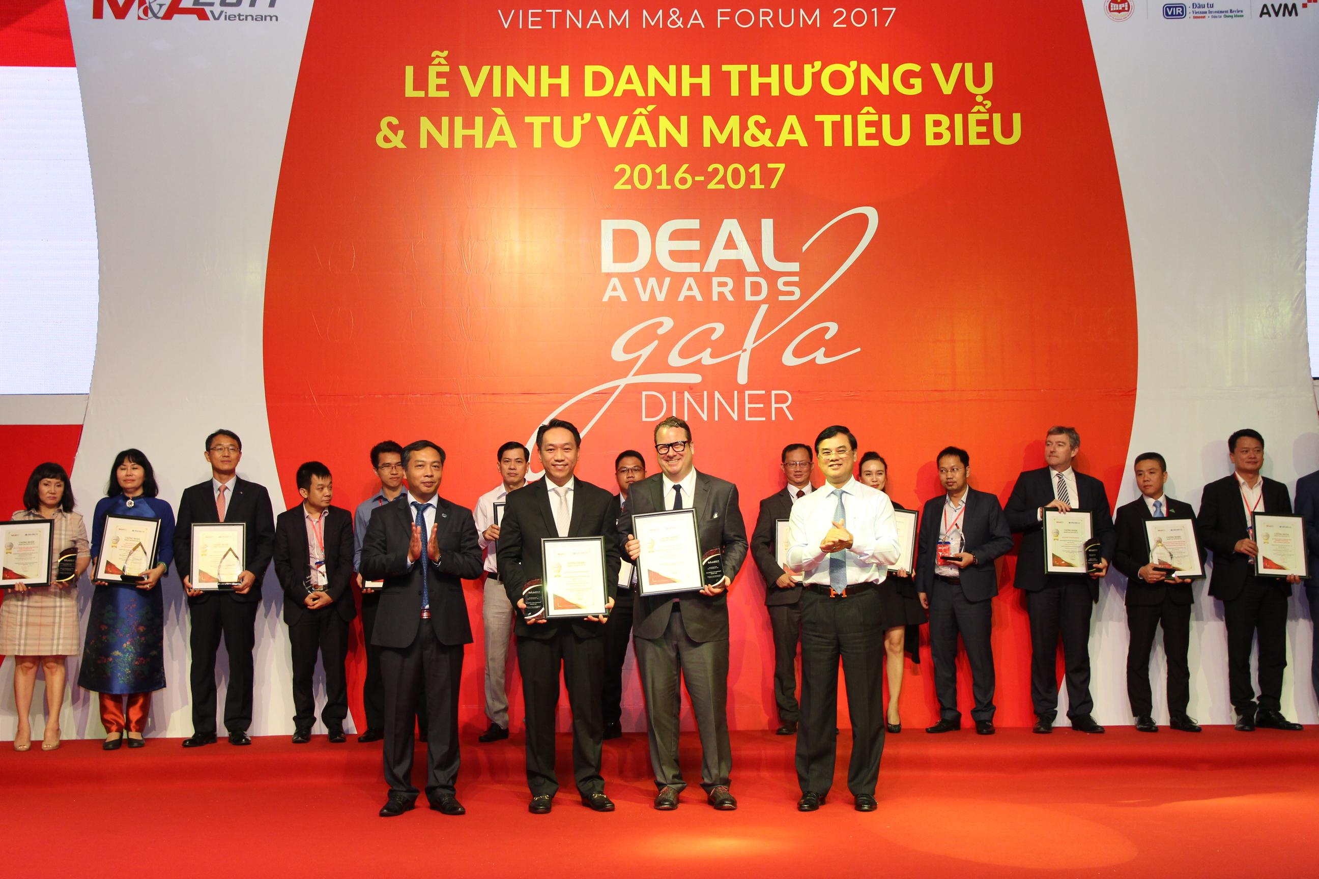 sonkim land named winner of vietnam ma forum 2017