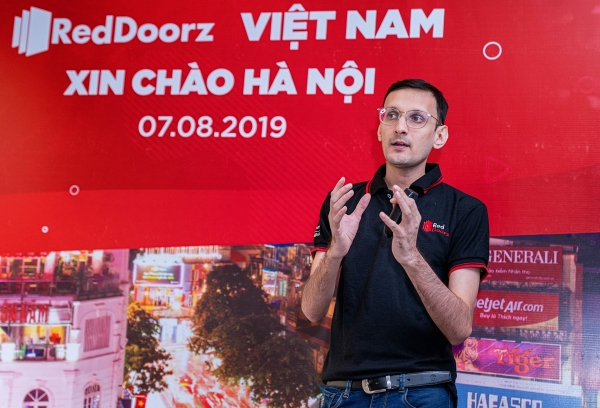 reddoorzs tech platform to promote budget hotels in vietnam