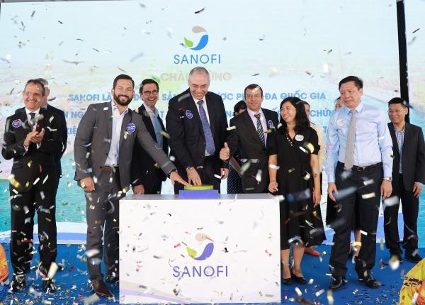 sanofi vietnam celebrates first batch of pharmaceutical import