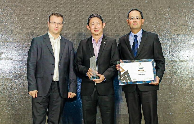 vsip honoured at dot property vietnam awards