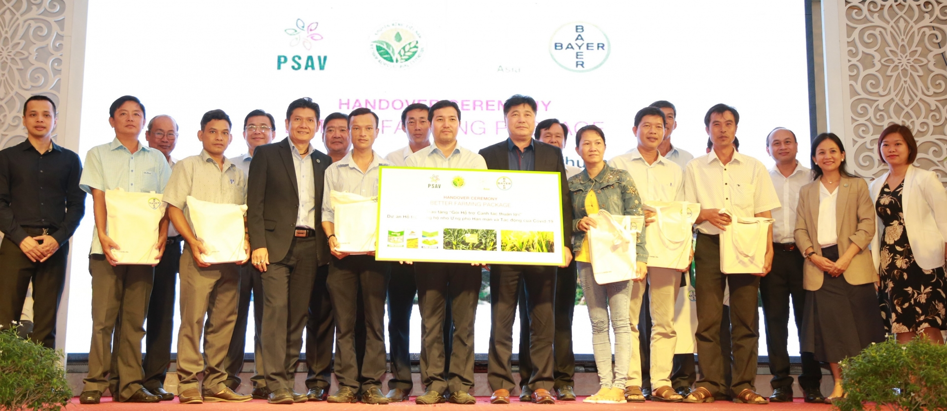 mekong delta smallholder farmers to receive covid 19 drought and saline intrusion support