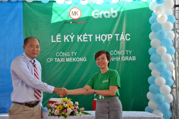 grab teams up with mekong taxi to roll out grabtaxi in bac lieu