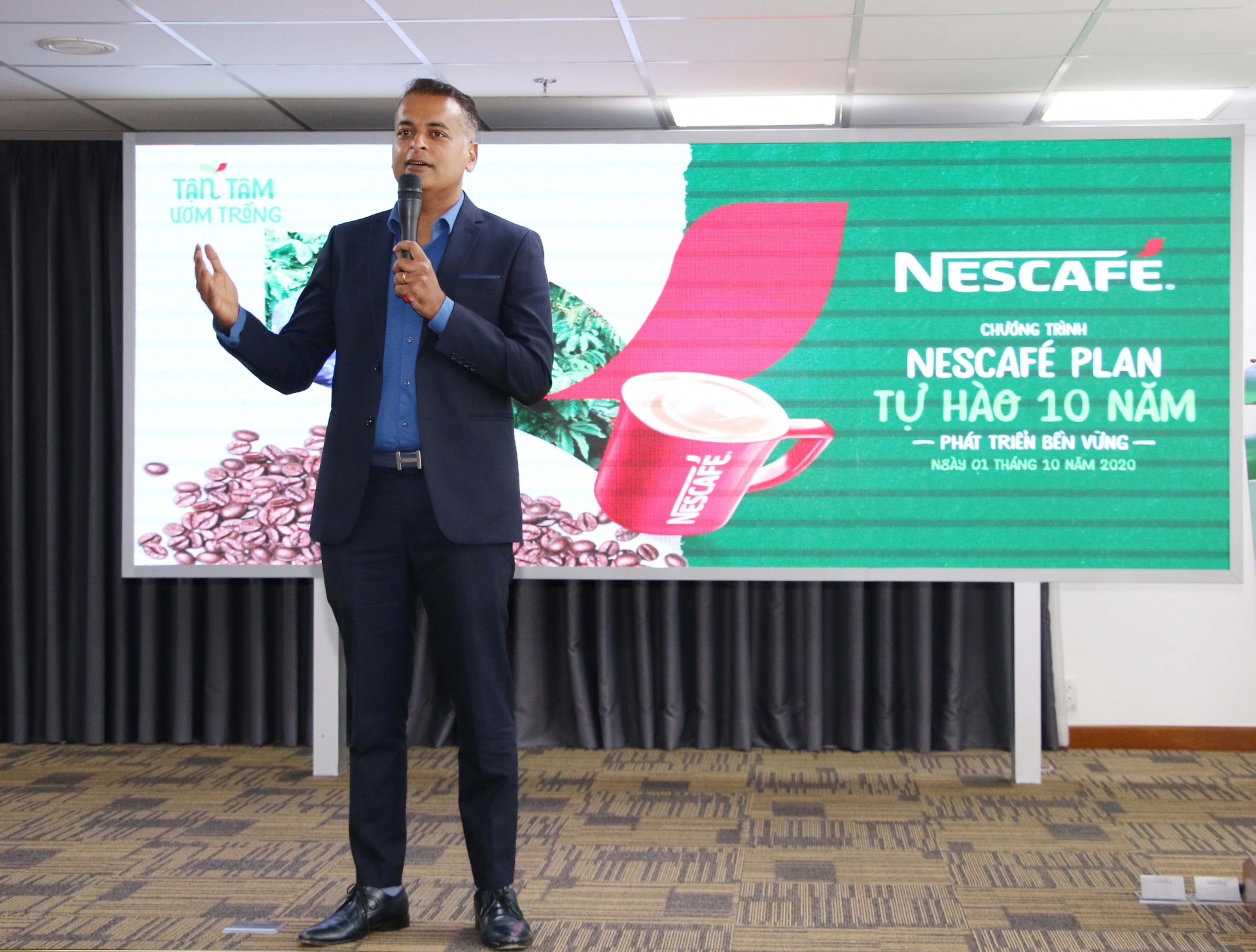 nescafe plan in vietnam marks 10 years of sustainable coffee production