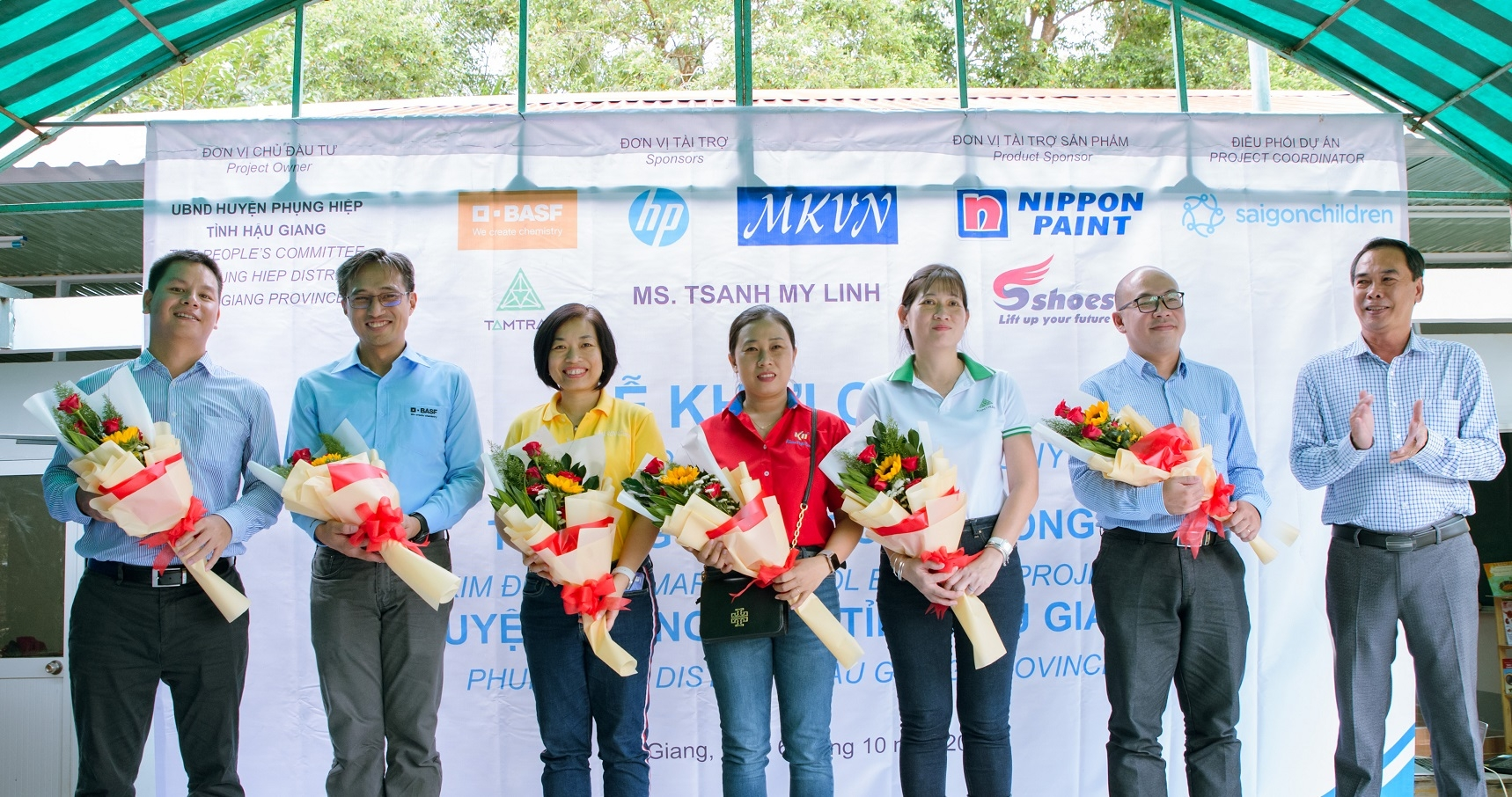 basf partners up with customers to rebuild school in remote area in hau giang vietnam