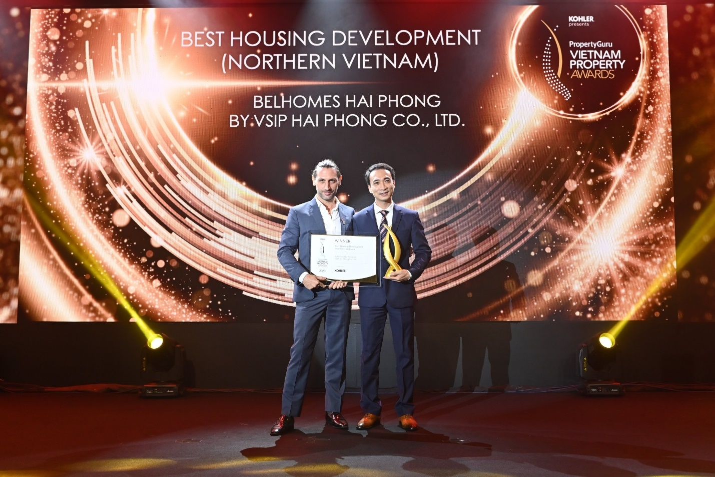vsip jsc bags best sustainable developer title at vietnam property awards 2020