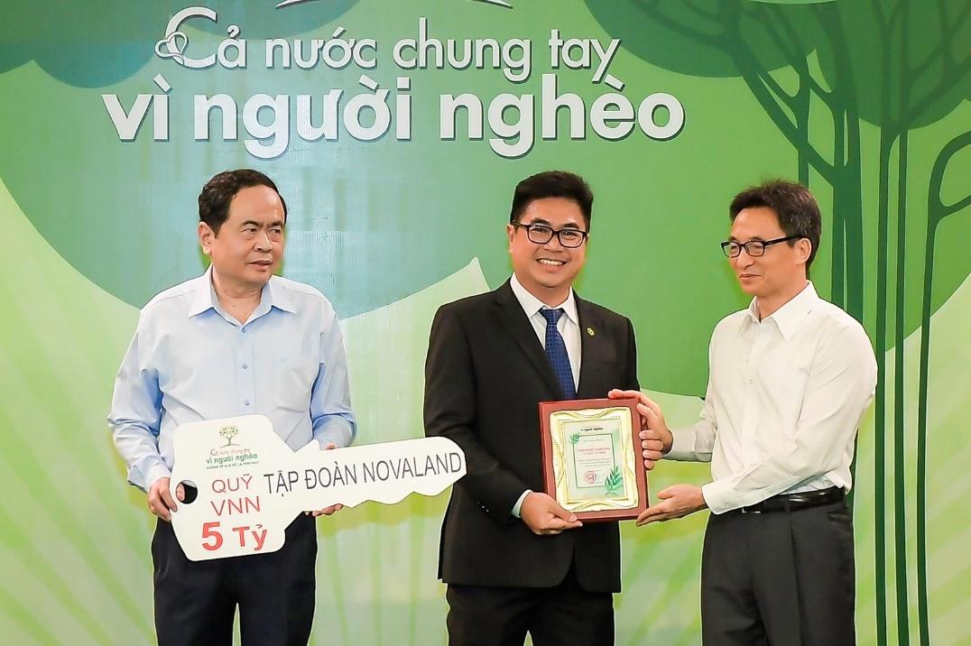 novaland joins force to support flood stricken central vietnam