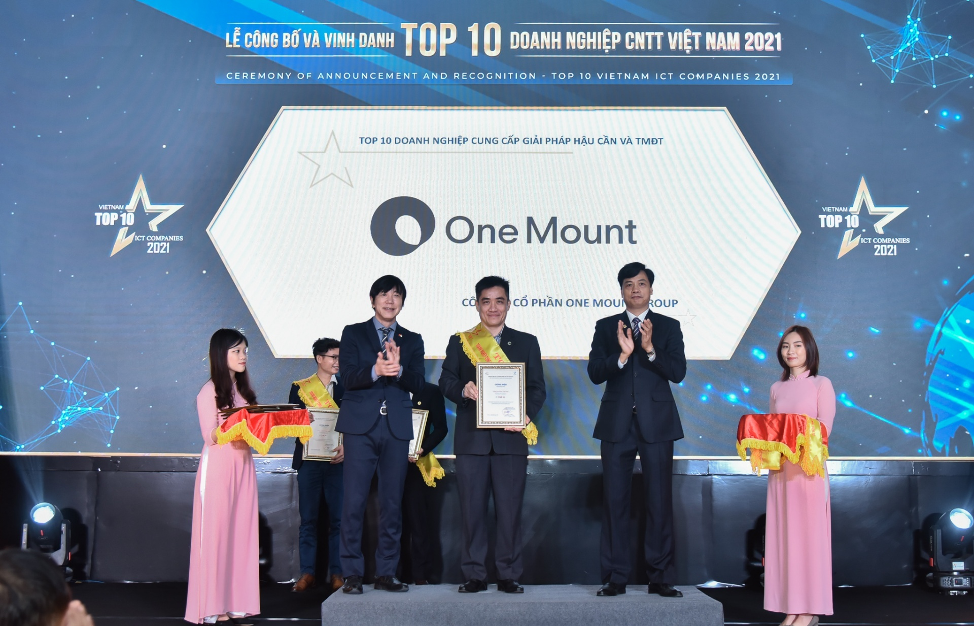 One Mount garners two prestigious awards on ICT and HR