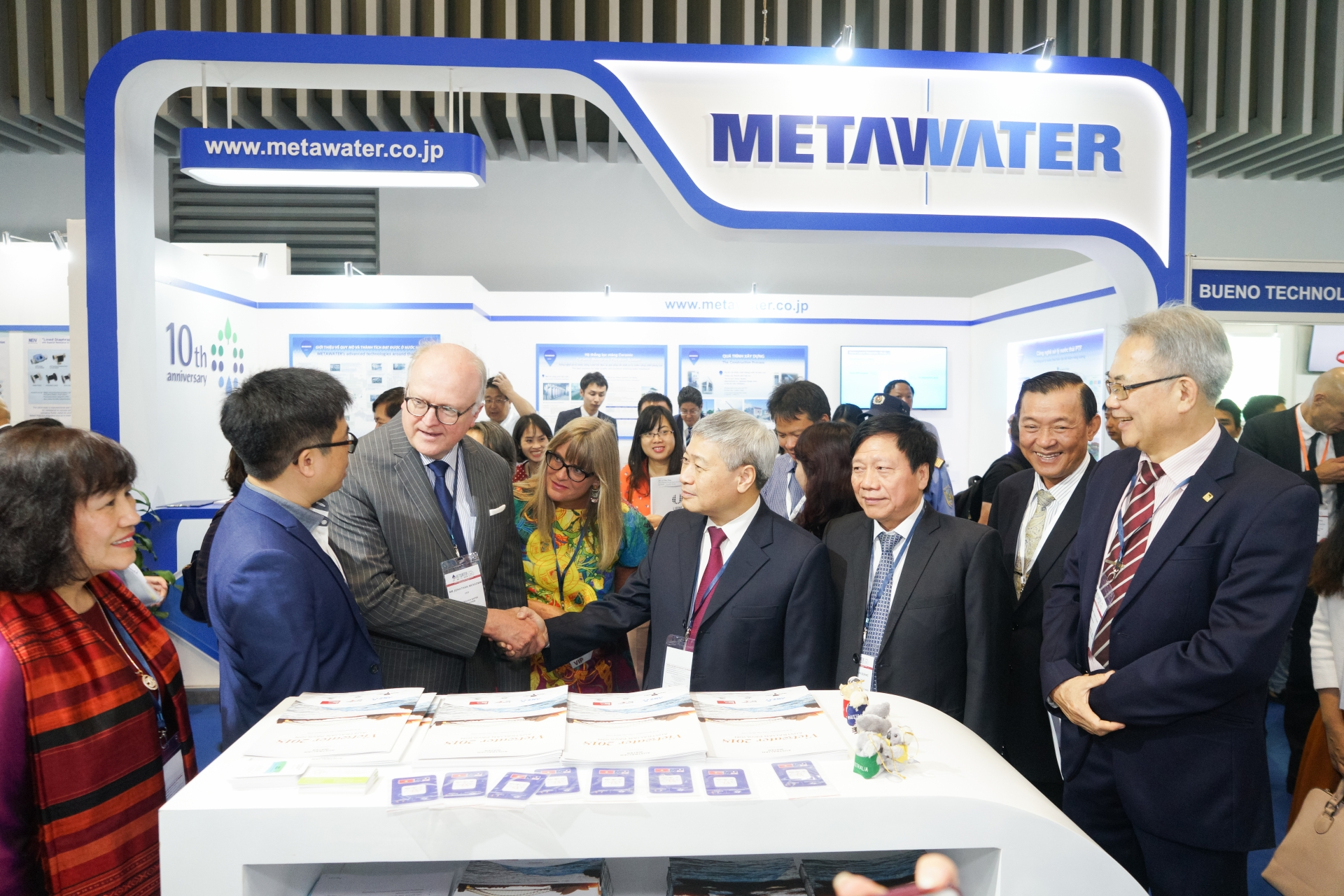 vietwater is underway to promote latest technologies in water industry