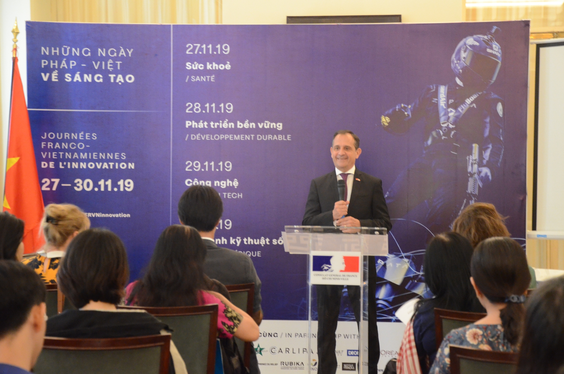 france vietnam days of innovation is underway