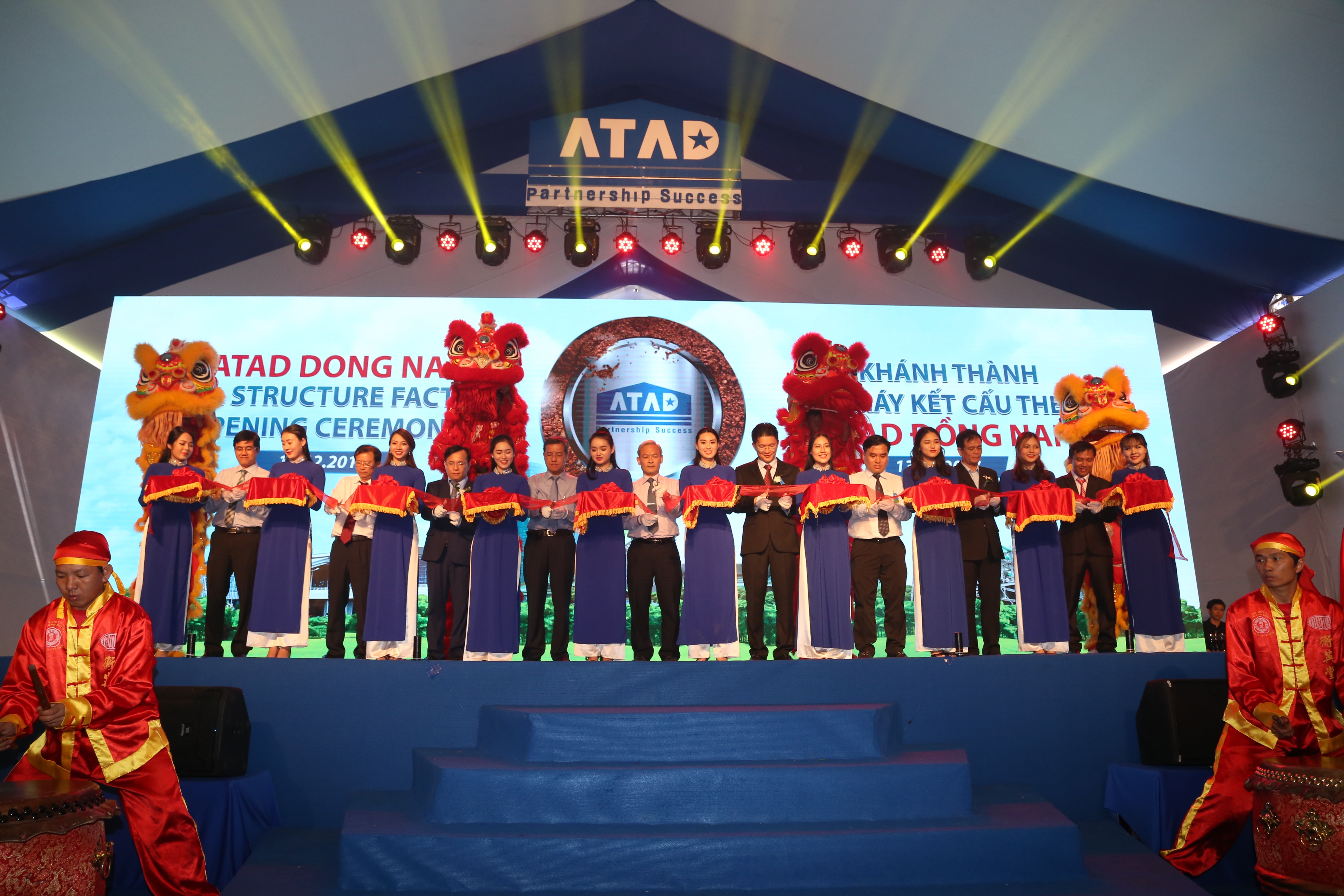 Atad Inaugurates Leed Certified Steel Factory In Dong Nai