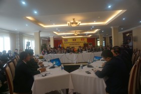 binh phuoc successfully hosts 11th clv joint coordination committee meeting