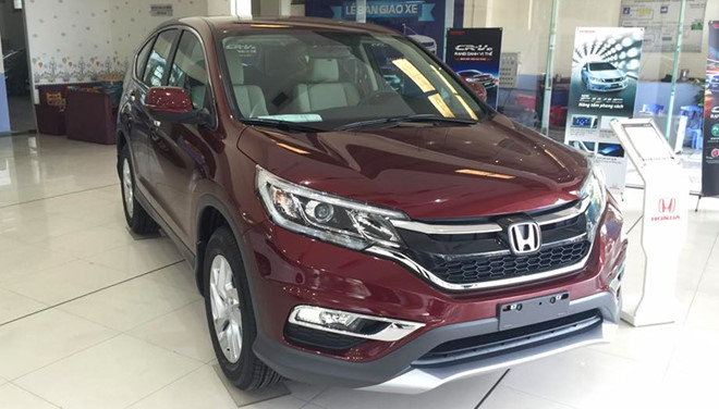 Honda CRV Joins Vietnam Price War