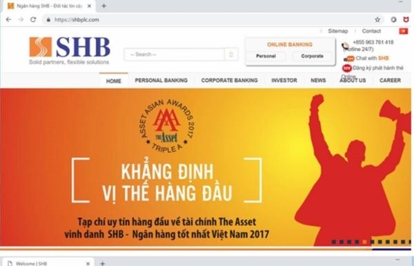 shb warns of fake websites