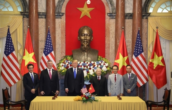vietnam and the us seeing a surge in bilateral ties