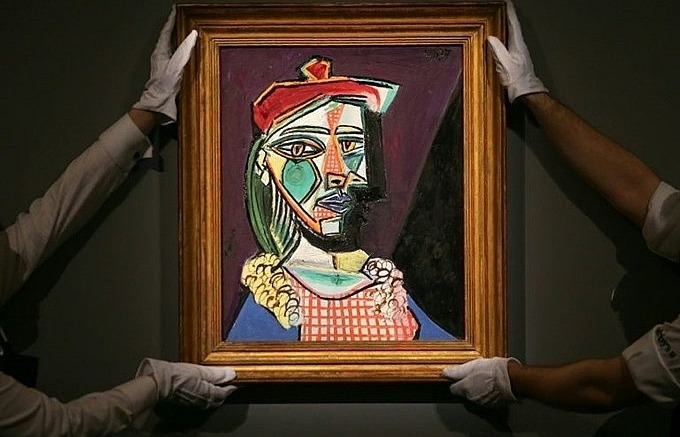 picasso painting of muse future lover fetches a record of 69 million