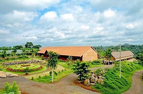 ede ethnic village is developed into a tourist destination
