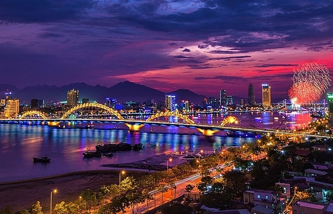 danang fireworks festival to celebrate bridges