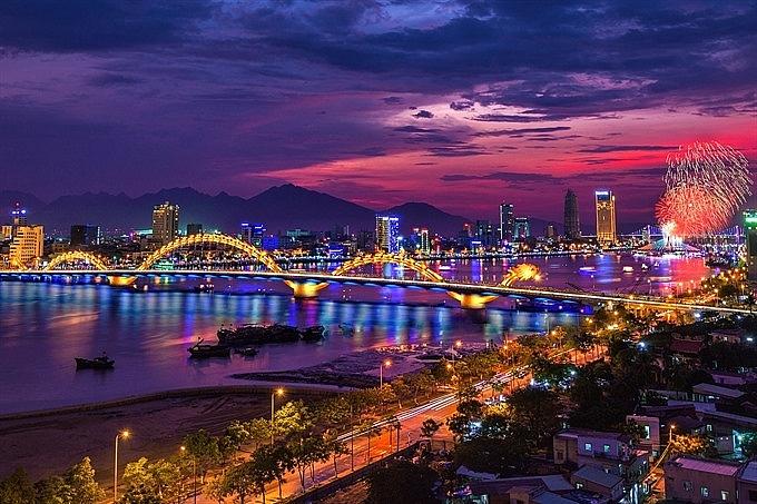 danang fireworks festival to celebrate bridges