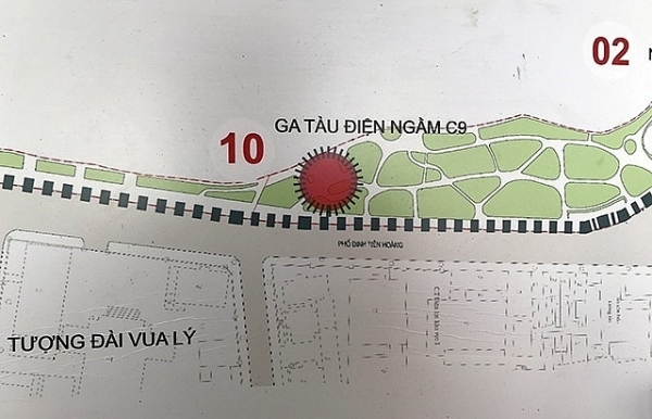 public feedback invited on underground station near hoan kiem lake