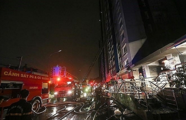 carina plaza fire management board to compensate uninsured residents