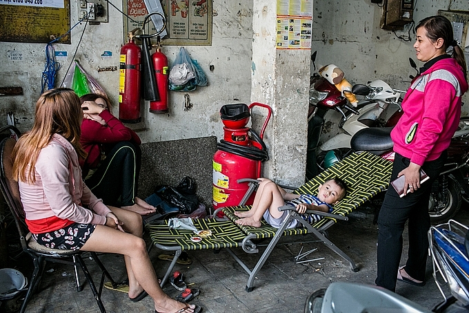 ho chi minh city buildings remain exposed to fire hazard