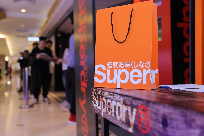 superdry looking at good prospects in hanoi