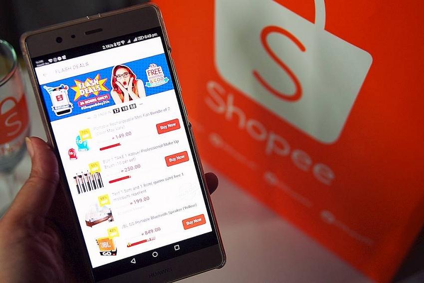 shopee begins charging commission