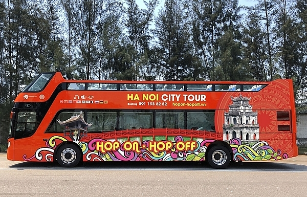 hanoi to welcome hop on hop off double decker tours