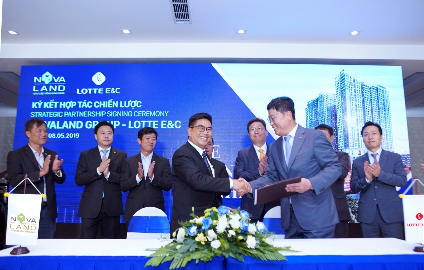 lotte ec appointed as the main contractor for the grand manhattan