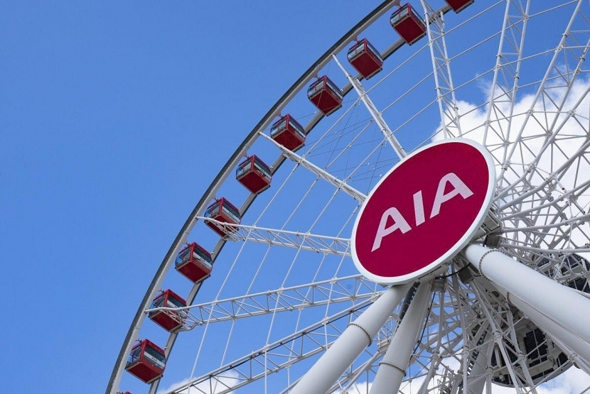 aia voted as asias best insurer for going strong with brand promise