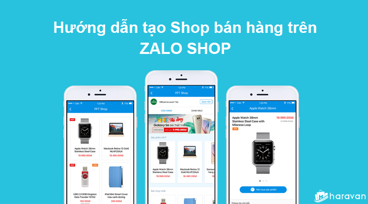 zalo shop has been operating e commerce without a license