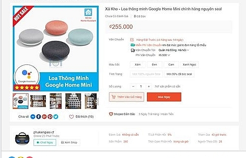 shopee delays handling ghost vendors