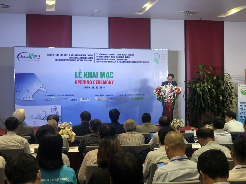 envirotex 2019 helps pollution treatment equipment approach vietnam