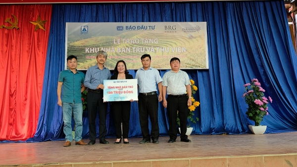vir awarded homes for disadvantaged children in mu cang chai