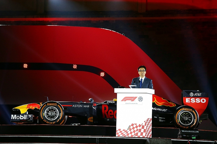 f1 will officially come to vietnam