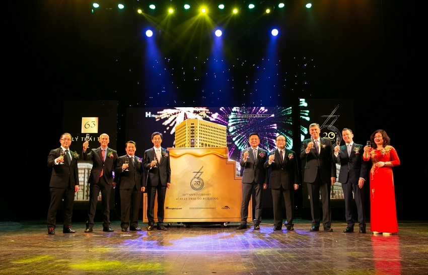 hongkong land celebrates 20 years of 63 ly thai to in hanoi