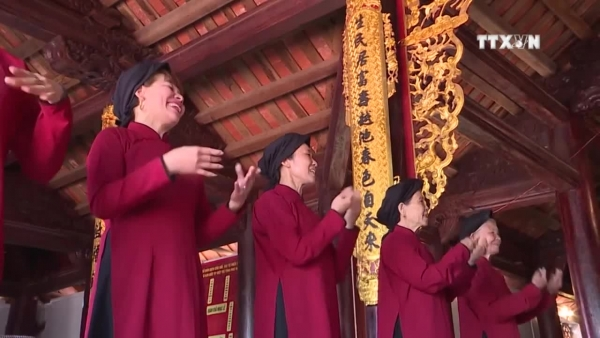 Xoan singing guilds preserve intangible heritage
