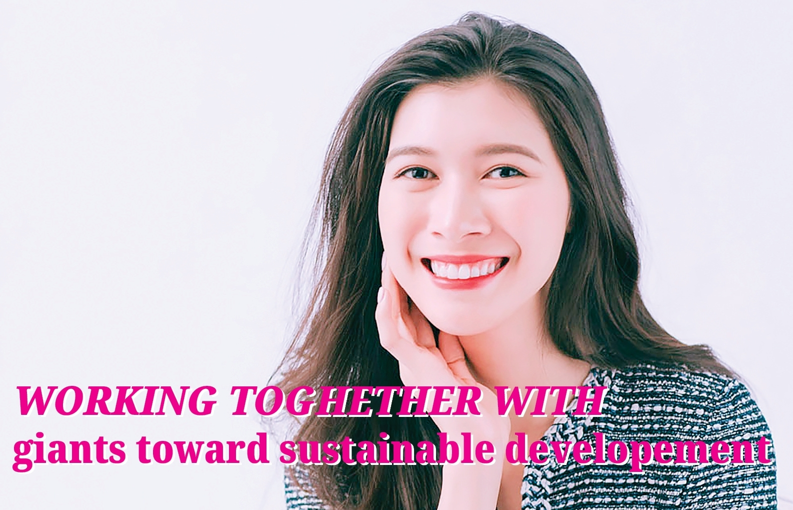 Working together with giants toward sustainable development