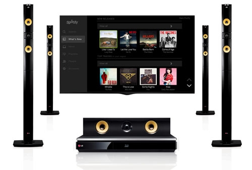 lg introduces spotify to smart media devices