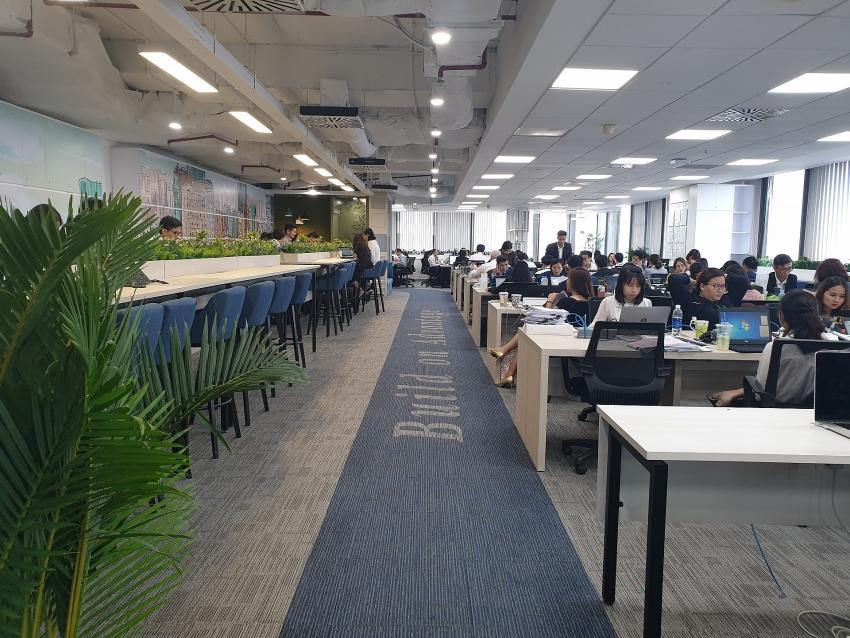 cbre vietnam open 360 degree office in vietnam