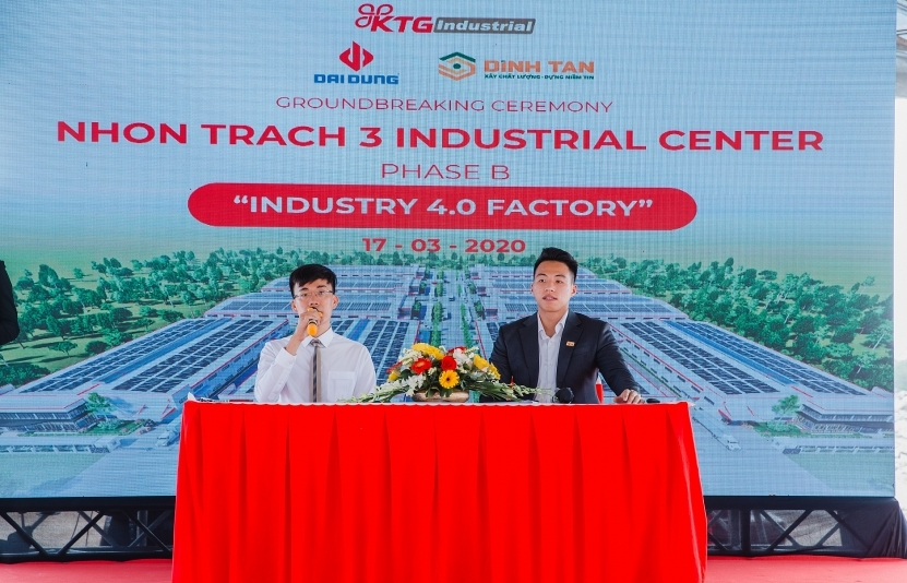 KTG starts construction of ready-built factory in Nhon Trach 3B Industrial Centre