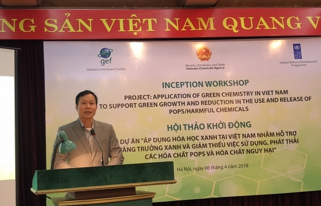 UNDP launches new green chemical project