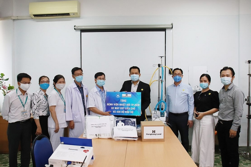 hongkong land donates ventilators and protective clothing to combat covid 19