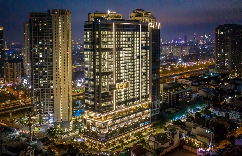 Luxury mixed-use development Q2 Thao Dien ready for handover by this April