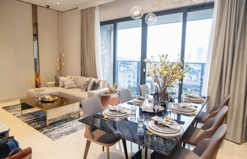 Hongkong Land opens new show suites of The Marq