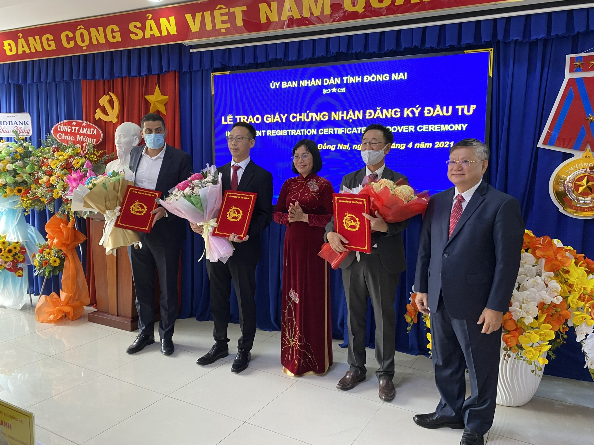Nestlé, Formosa, and four others expand investment in Dong Nai