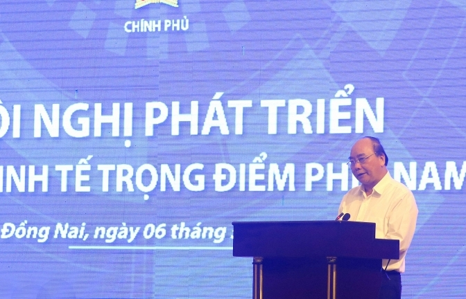 prime minister pushes up development of southern key economic zone