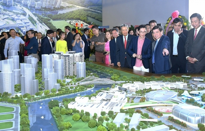 $500 million Saigon Sports City proceeds with a bridge linking north and south areas