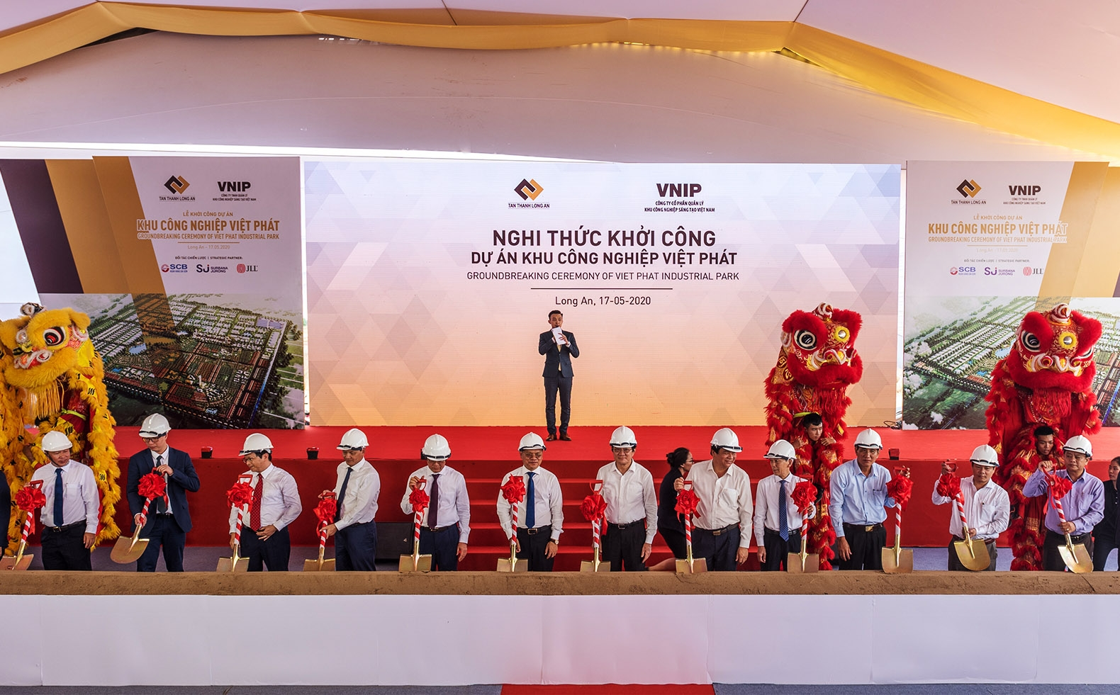 1,800 hectare Viet Phat Industrial Park and urban area started in Long An province
