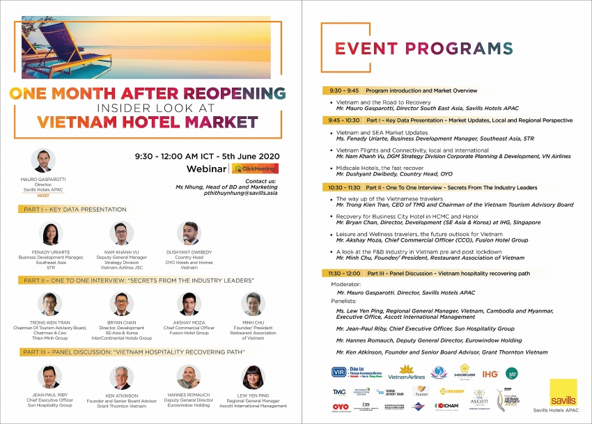 savills hotel apac holds webinar on hotel performance after re opening